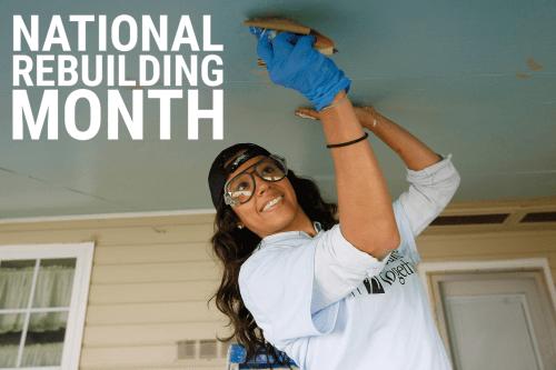National Rebuilding Month